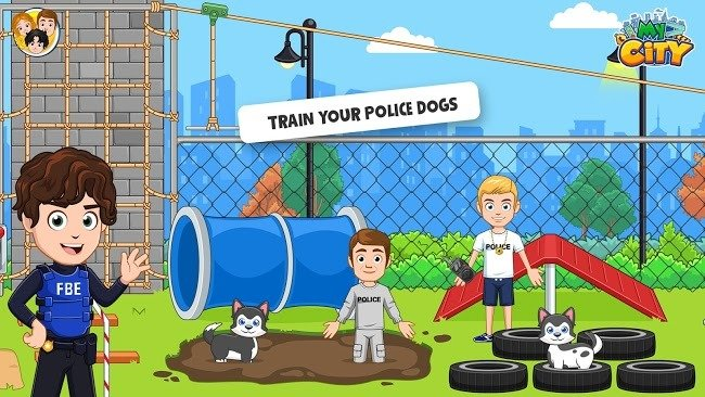 My City Cops and Robbers mod apk