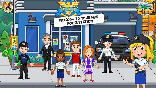 My City Cops and Robbers apk