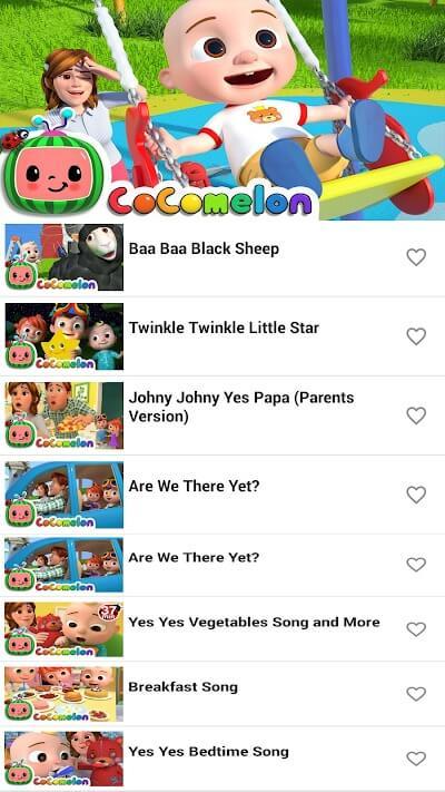 CocoMelon Nursery Rhymes mod apk