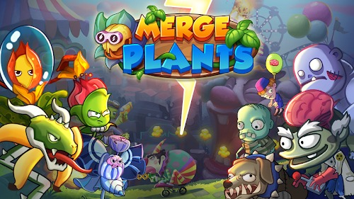 Merge Plants Zombie Defense mod apk