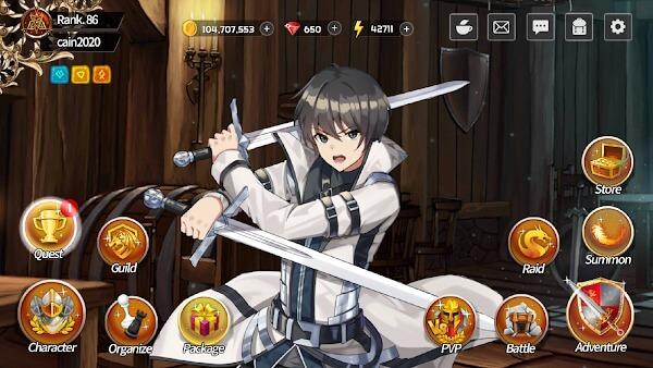 Sword Master Story mod gameplay
