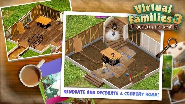 Virtual Families 3 mod apk