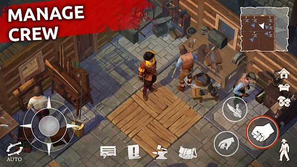 Mutiny Pirate Survival RPG MOD APK