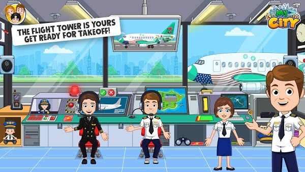 My City : Airport APK