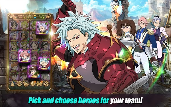 The Seven Deadly Sins Grand Cross APK