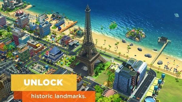 SimCity Buildit MOD APK