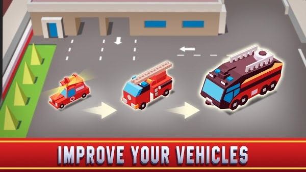 Idle Firefighter Empire Tycoon MOD APK