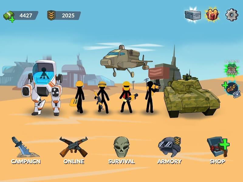 Stickman World Battle MOD APK